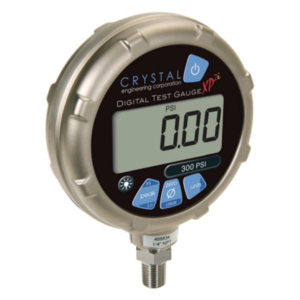 Rent Crystal XP2i Digital Logging Pressure Gauge 206 bar NATA